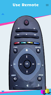 Remote Control for Philips Smart TV