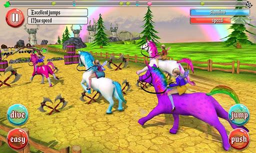 ultimate unicorn dash 3d screenshot 3
