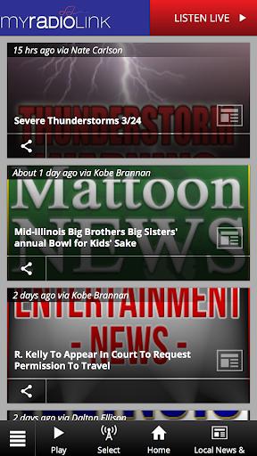 MyRadioLink screenshots 1