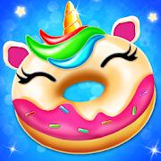 Unicorn Donut Maker: Dessert Cooking Mania