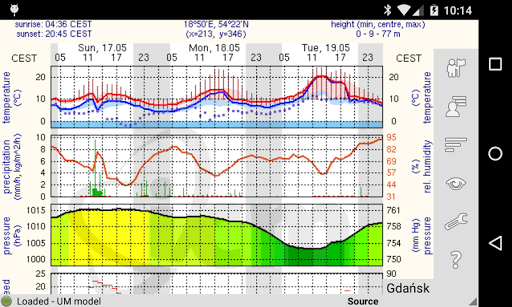Meteo - meteo.pl reader 1.9.1 Screenshots 7