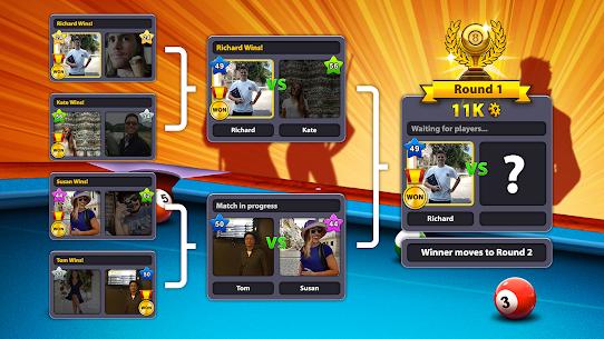 8 Ball Pool Mod Apk Unlimited Money+Cash+Cues Latest Version 2021 3