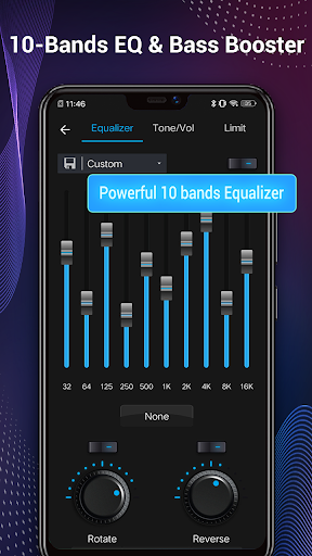 Music Player - Audio Player & 10 Bands Equalizer 1.8.1 Screenshots 4