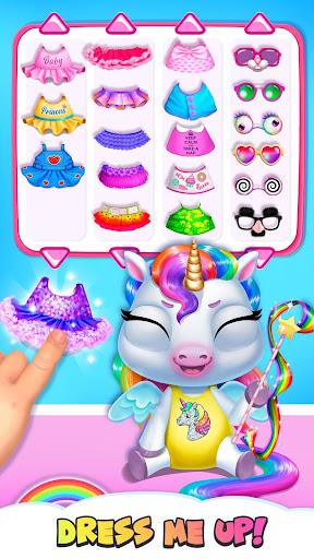 My Baby Unicorn - Virtual Pony Pet Care & Dress Up 9.0.24 screenshots 2