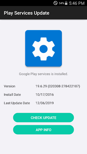 Play Services Update - Update to the latest 1.0.6 Screenshots 1
