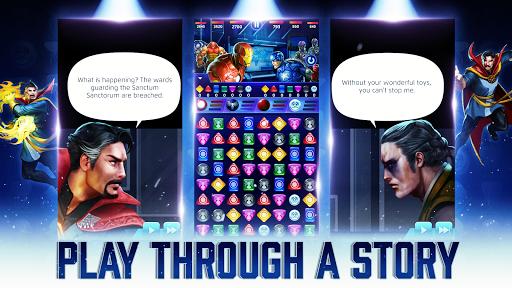 MARVEL Puzzle Quest: Join the Super Hero Battle! 230.575222 Screenshots 2