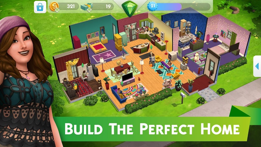 The Sims™ Mobile MOD poster 2