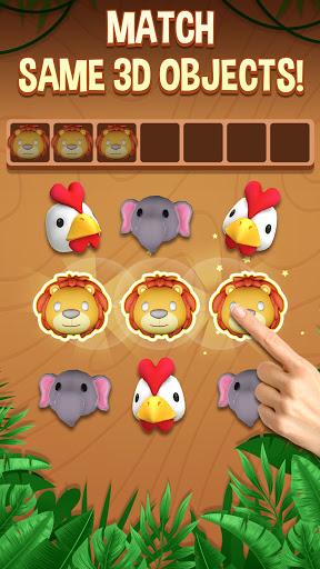Tile Connect 3D - Triple Match Puzzle Game screenshots 1