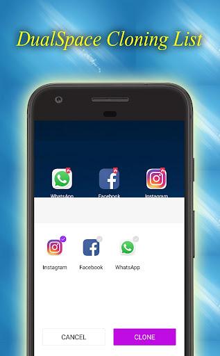 Dual Space - Multiple Space - App Cloner 1.0.8 screenshots 3