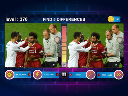 Spot 5 Differences 1000 levels 1.6.1 screenshots 10