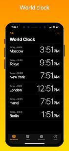 iClock iOS Mod Apk- Clock iPhone Xs (Pro Features Unlocked) 4