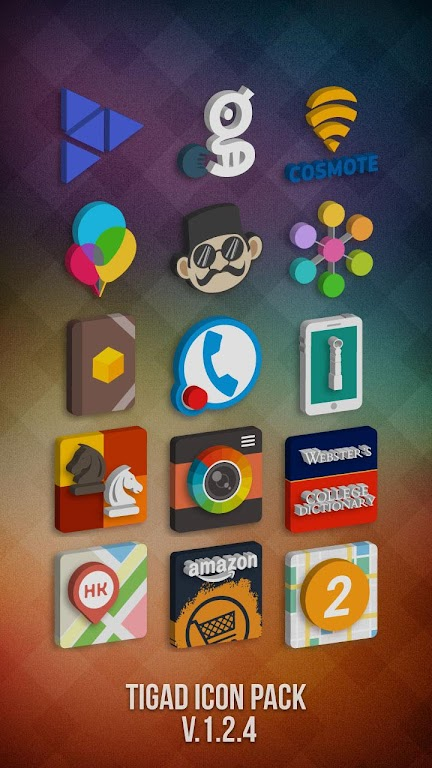 Tigad Pro Icon Pack  poster 2