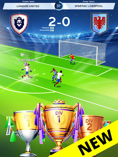 Idle Eleven - Be a millionaire soccer tycoon screenshots 8