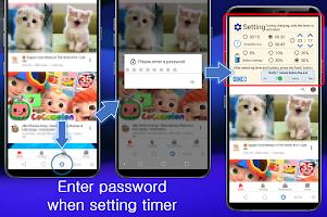 Kids Tube – Timer & Password for Videos
