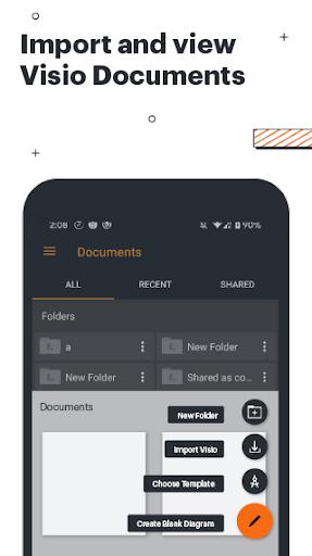 lucidchart - flowchart, diagram & visio viewer screenshot 1