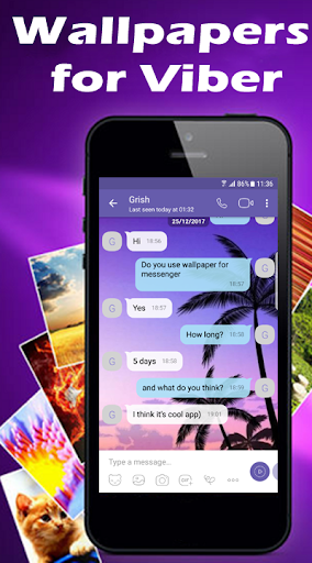 Wallpapers for Viber Messenger and Chat 1.03 Screenshots 2