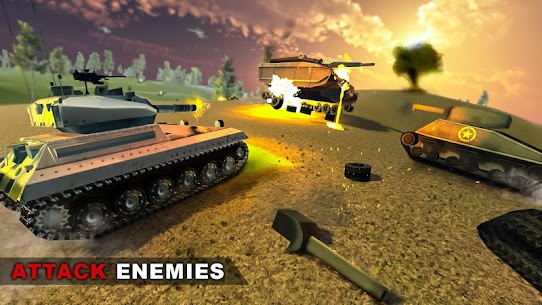 US Army Battle Tank Warrior Attack: Military Blitz Hack Cheats (iOS & Android) 2