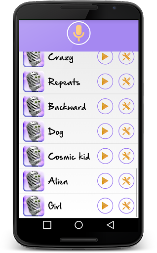 Change your voice! Voice changer for free  screenshots 3