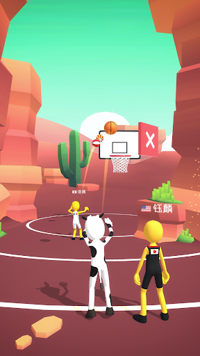 Five Hoops - Basketball Game apkmr screenshots 4