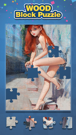 Wood Block Puzzle And Jigsaw  screenshots 2