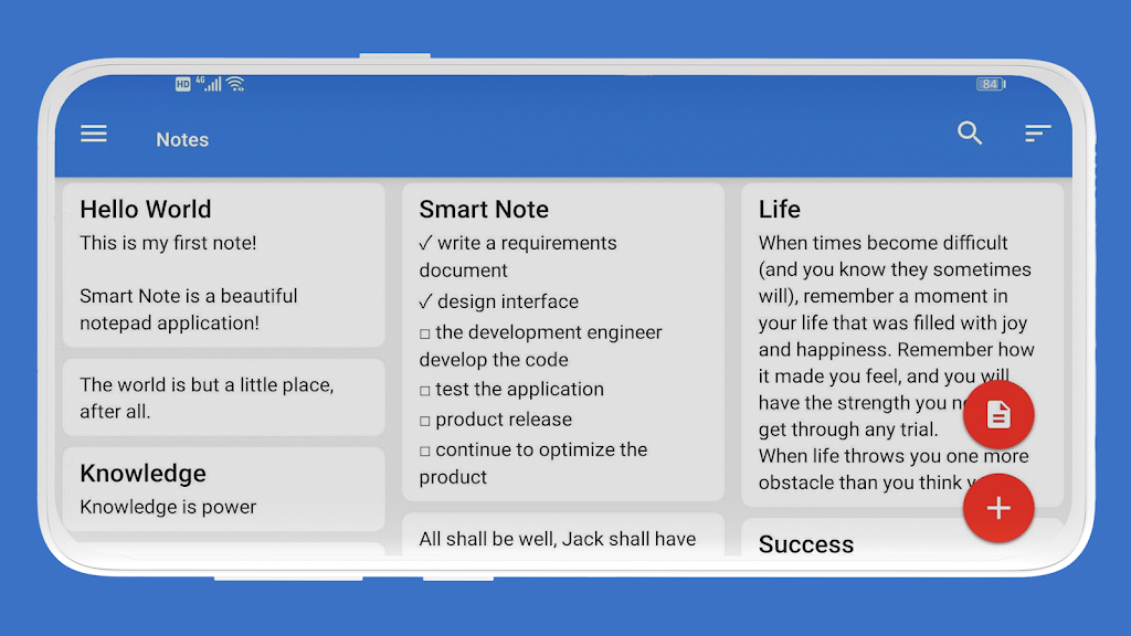 Smart Note - Notes, Notepad, Todo, Reminder, Free  poster 10