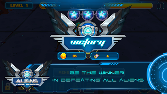 Aliens of Galaxy War Defends Game Hack Android and iOS 4