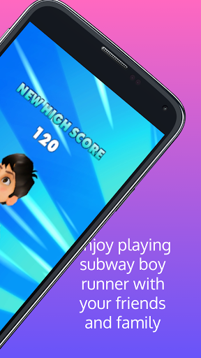 subway boy runner screenshot 3