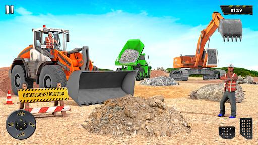 Heavy Excavator Crane Sim Game 2.2 screenshots 1