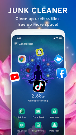 Zen Booster - Antivirus, Cache Clean, Junk Sweeper android2mod screenshots 1