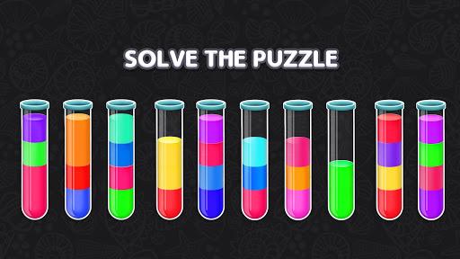 Color Water Sort Puzzle: Liquid Sort It 3D apktram screenshots 7