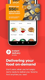Kulina - Food Delivery Screenshot