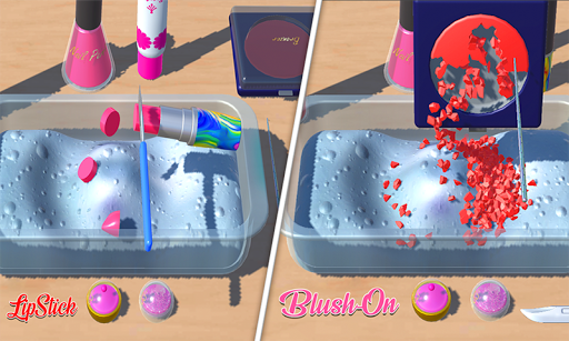 DIY Makeup Slime Maker! Super Slime Simulations 2.1 screenshots 3