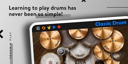 CLASSIC DRUM: Electronic drum set 7.5.6 Screenshots 2