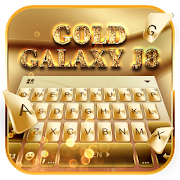 keyboard - Gold Galaxy S7 Edge