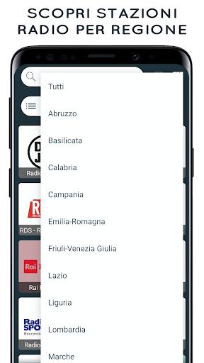 Radio Italia: Online Radio Streaming screenshots 6