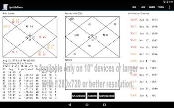 Jyotish Tools screenshot thumbnail