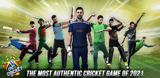 Epic Cricket - Big League Game  APK MOD (Astuce) screenshots 1