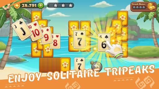 Solitaire Tripeaks  screenshots 1