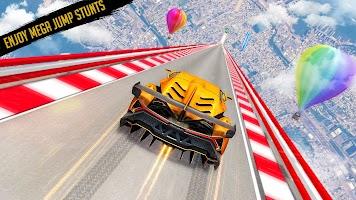 Crazy Ramp Car Stunt: Impossible Tracks Car Games