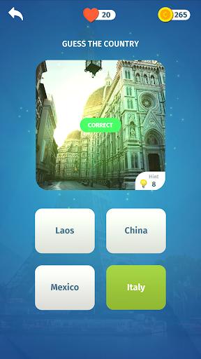 Travel Quiz - Trivia game  screenshots 2
