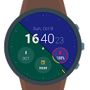 Material Style Watch Face
