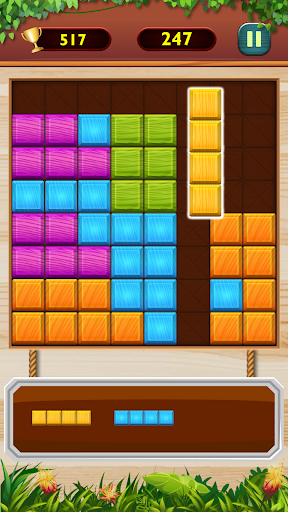 Wood Block Puzzle Classic android2mod screenshots 5