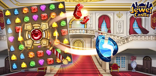 Grand Jewel Castle: Graceful Match 3 Puzzle 1.9.20 screenshots 1