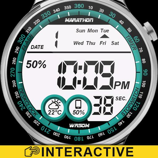 Digital One Watch Face Icon