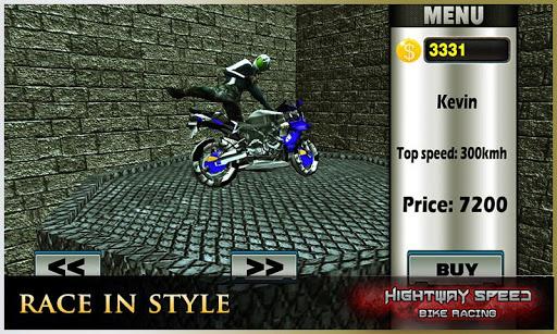 Highway Speed Motorbike Racer : Bike Racing Games  screenshots 2