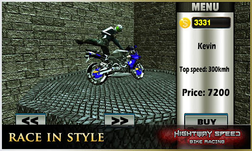 Highway Speed Motorbike Racer : Bike Racing Games 3.1 screenshots 2