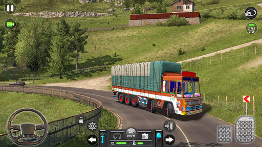Real Mountain Cargo Truck Uphill Drive Simulator android2mod screenshots 9
