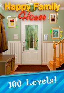100 Doors Happy Family House