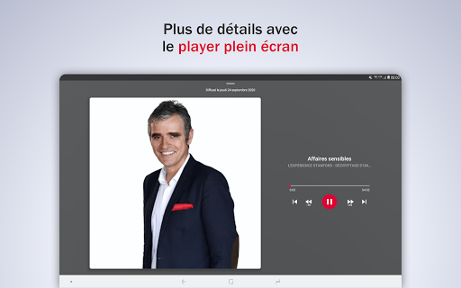 France Inter - radio, podcasts, actu 6.0.0 screenshots 12