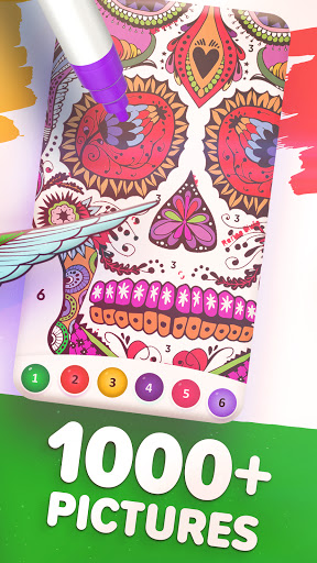 Magic Color by Number: Free Coloring game 1.6.5 screenshots 4